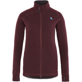 Klättermusen Balder Zip Jacket Women sorrel red